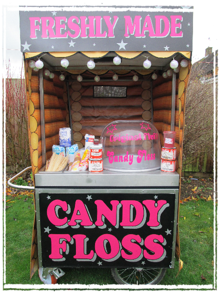 rent a candy floss stall