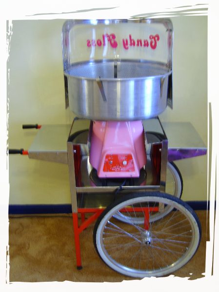 candy floss machine and cart hire
