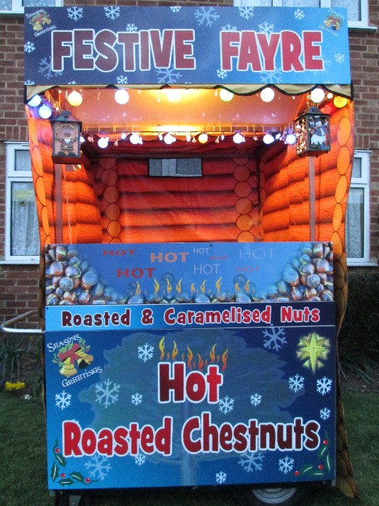 roast chestnut hire cart for hire