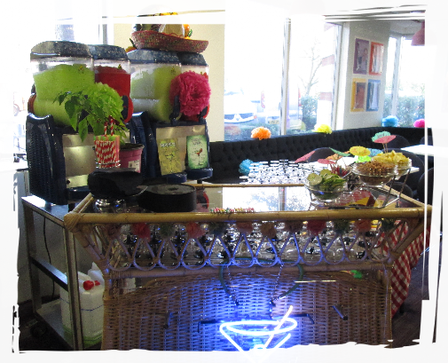 frozen cocktail bar rental