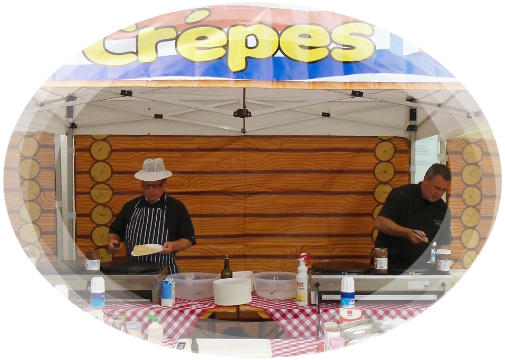 crepe catering for company event