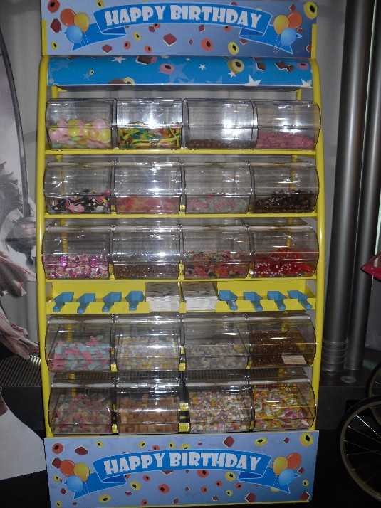 pic n mix sweetie stand hire