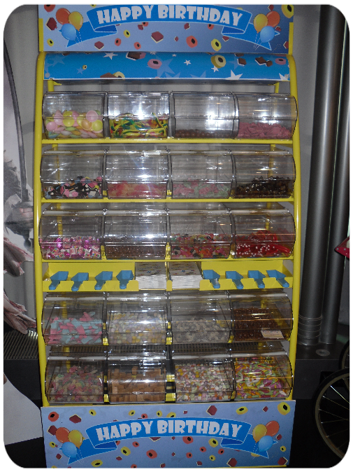 rent a pick and mix sweet stand