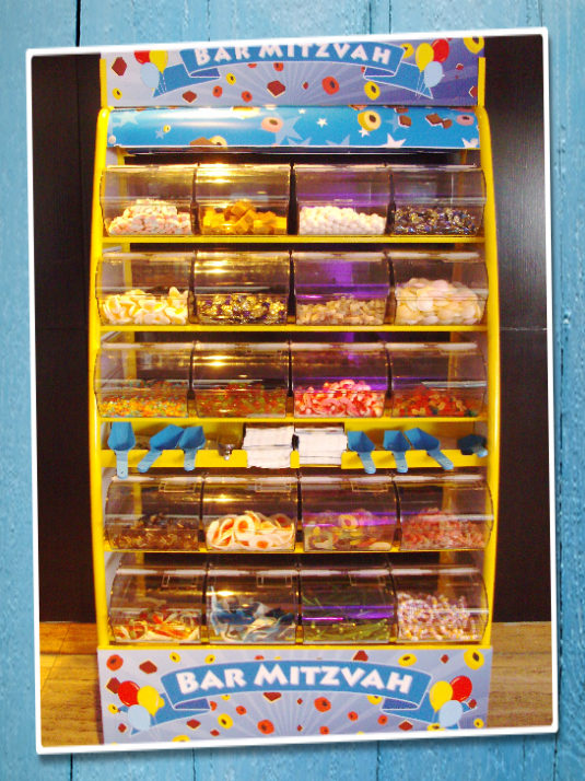 bar mitzvah sweet stand hire