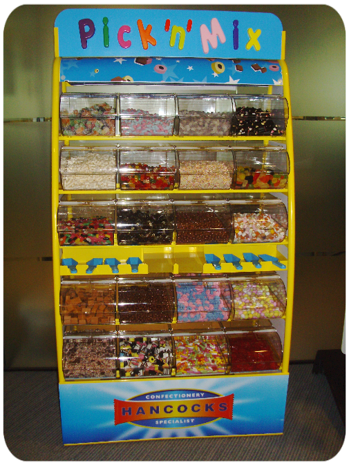 pick n mix sweetie stand hire