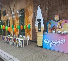 ice cream factory for childrens party