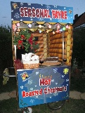 chestnuts and mulled wine cart