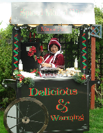 victorian mince pie cart