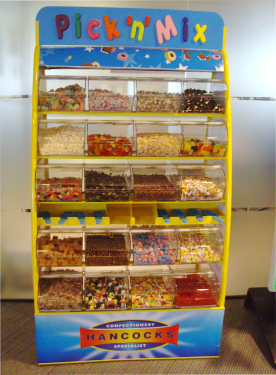 pick n mix sweet dispay stand hire