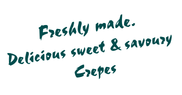 Freshly made.