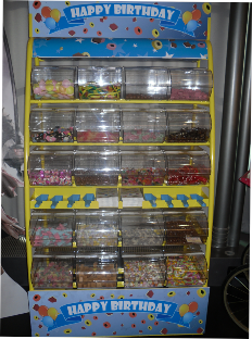 pick and mix stand hire