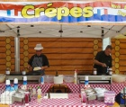 corporate fun day crepe catering